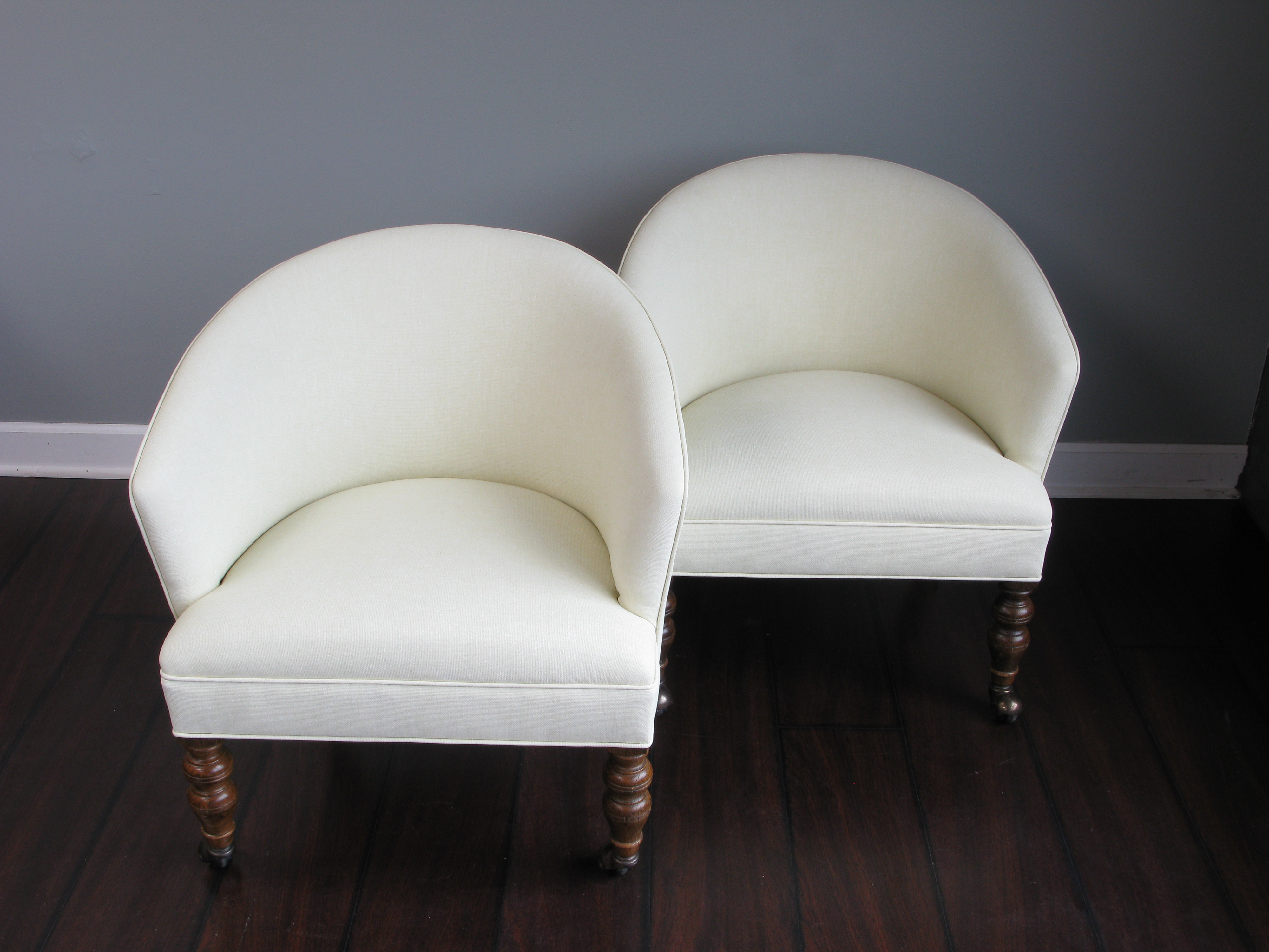 ... Click To Enlarge Image White Vonyl Bordians Upholstery Naperville (1)  ...